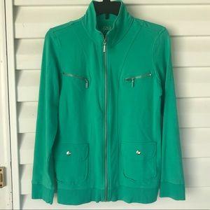 3 for $15 Green Zip Front Jacket